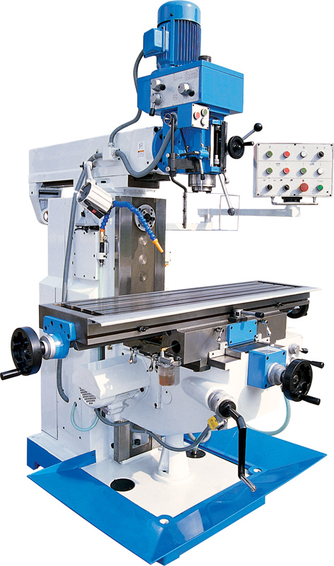 Conventional Milling Machine : Technosalesindya portfolio of hardware equipment and tools